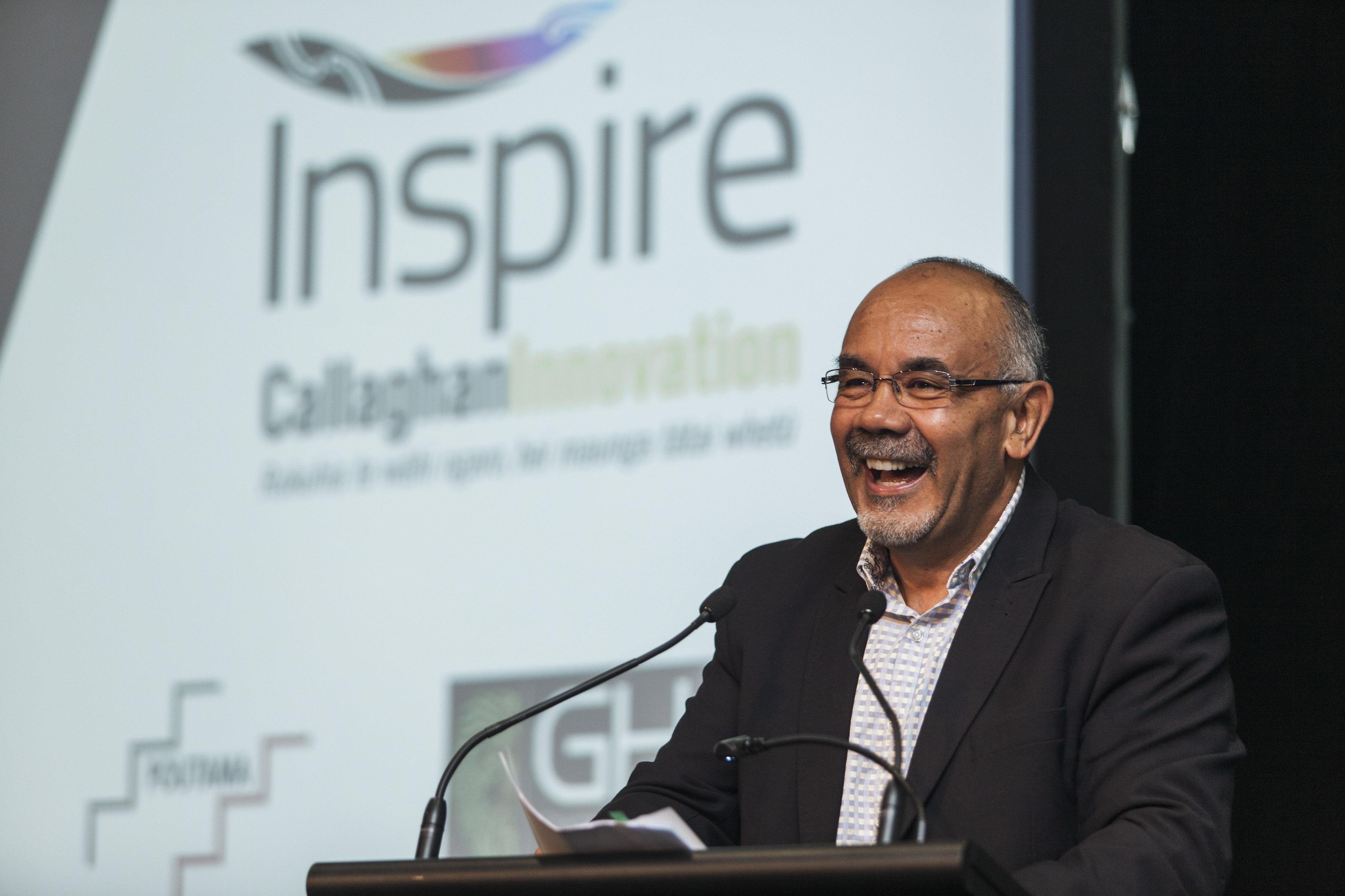Te Ururoa Flavell, Maori Development Minister speaks at Matariki X in Rotorua