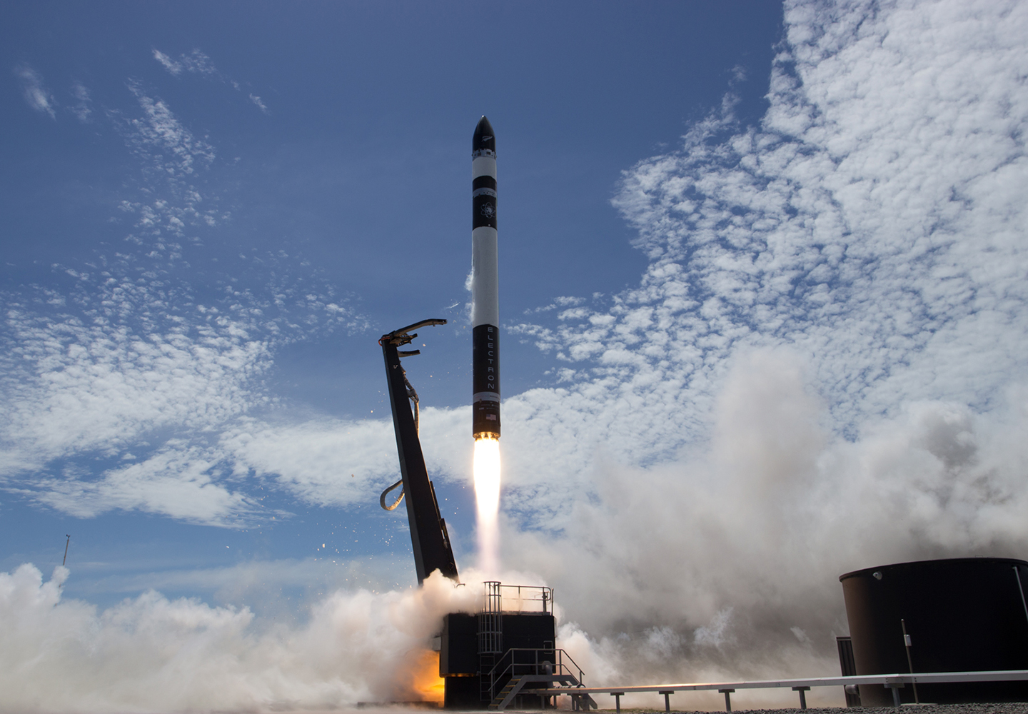 Rocket Lab 'Still Testing' launch 21 January 2018 (Credit: Rocket Lab)